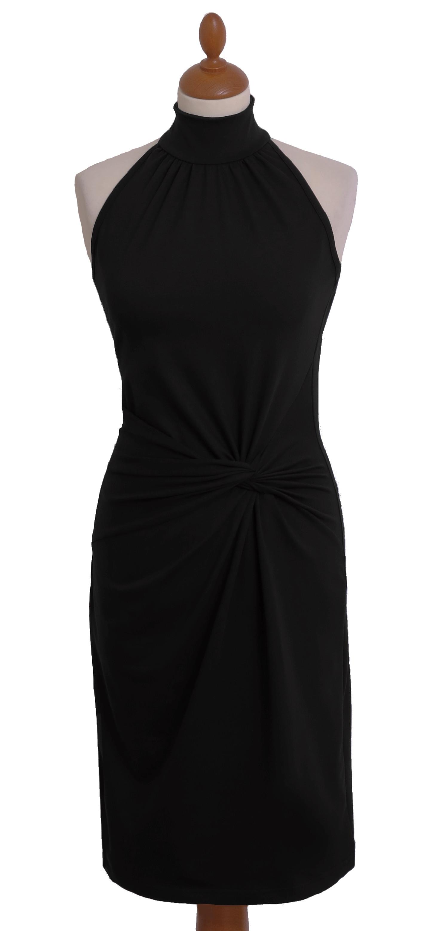 Kleid mit amerikanischen Schultern aus Bio Baumwolle - Naturmode